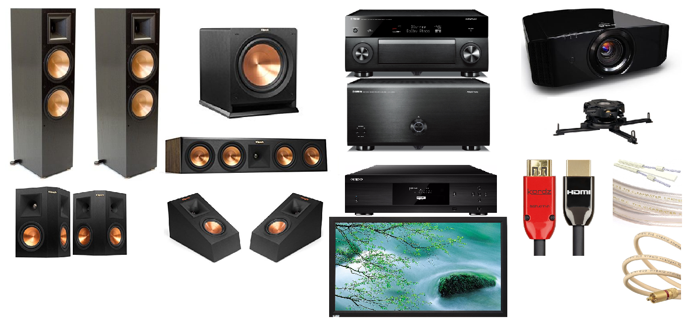 Packages - Home Theatre, Clef Hi Fi