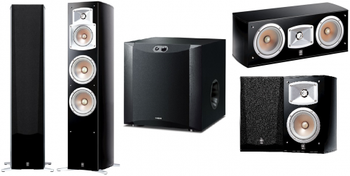 Yamaha NS-555 5.1 Home Theatre Speaker Package
