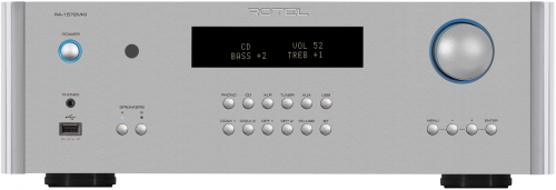 Rotel RA-1572 Integrated Amplifier - Silver (NEW)