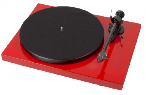 Pro-Ject Debut Carbon DC 2M Red Turntable - Gloss Red