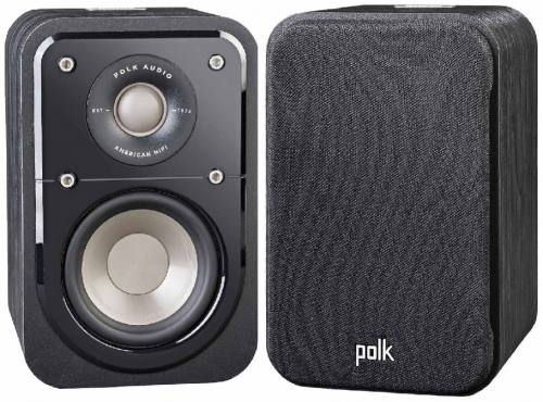 Polk Audio Signature S10 Compact Surround Speakers - Black