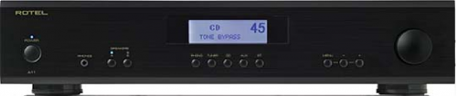 Rotel A11 Integrated Amplifier - Black