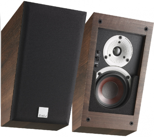 Dali Alteco C1 height Speakers - Light Walnut
