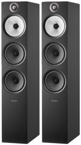 Bowers & Wilkins 603 s2 Floorstanding Speakers - Black