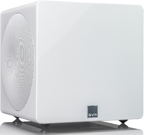 SVS 3000 Micro Subwoofer - Gloss White